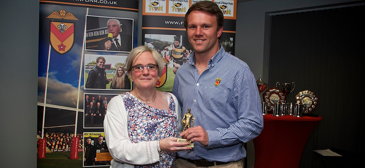 May player of the month - Geraint O'Driscoll