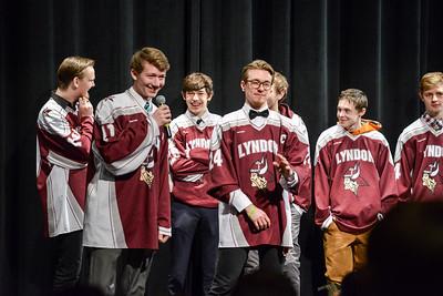 3/19/18 Boys Hockey Pep Rally