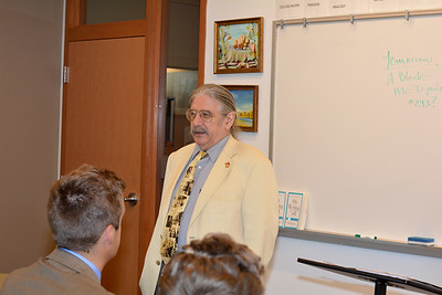 In the Classroom: Dr. Bill Ehrhart