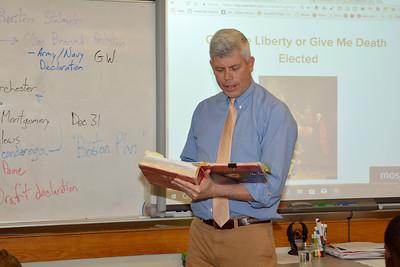 In the Classroom: Mr. John Suter