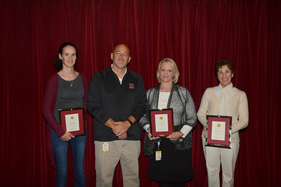 Thanksgiving Assembly – Faculty-Staff Years of Service Recognition