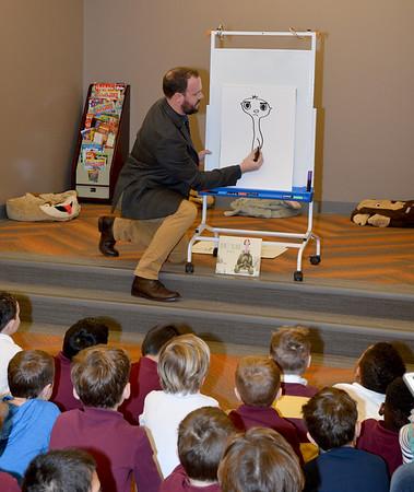 Annual Book Fair with Tom Booth '02