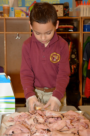 Pre-k & 2nd Grade Buddies – Sandwiches & Valentines for The Life Center