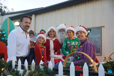 12-13-17 Rotary Santa Float