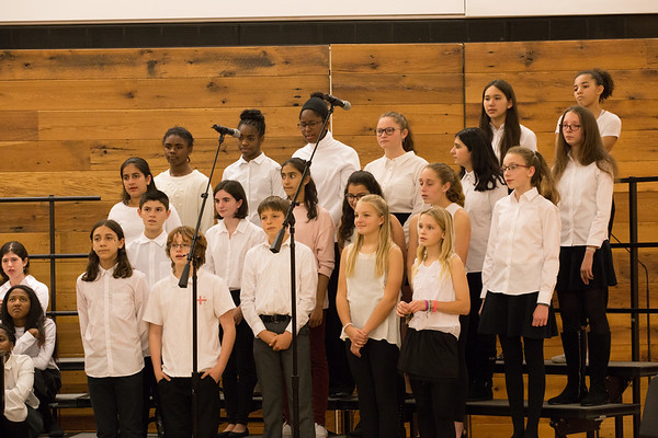 MS Choral Concert