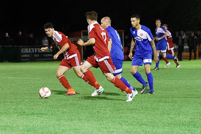 TN Premier League Match Felixstowe v Stanway rovers