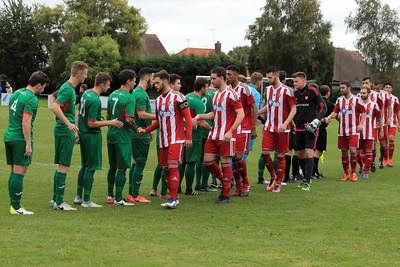 TN Premier League Match Felixstowe v Stanway rovers