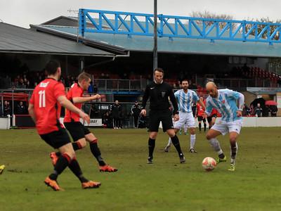 Histon v Felixstowe & Walton Utd in Thurlow Nunn Premier League