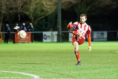 Felixstowe & Walton Utd v Gt Yarmouth Town in Thurlow Nunn Premier League