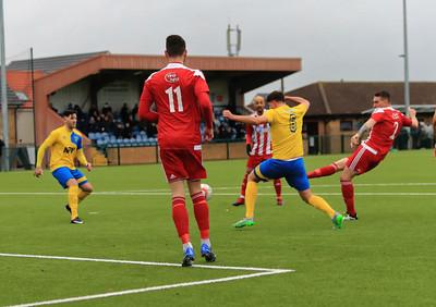 Newmarket Town v Felixstowe & Walton Utd in Thurlow Nunn Premier League