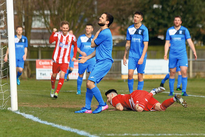 Felixstowe & Walton Utd v Haverhill Boro  in Thurlow Nunn Premier League