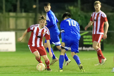Felixstowe & Walton Utd U-18v Bury Town U-18 s in Quarter Final  of  U-18 Cup