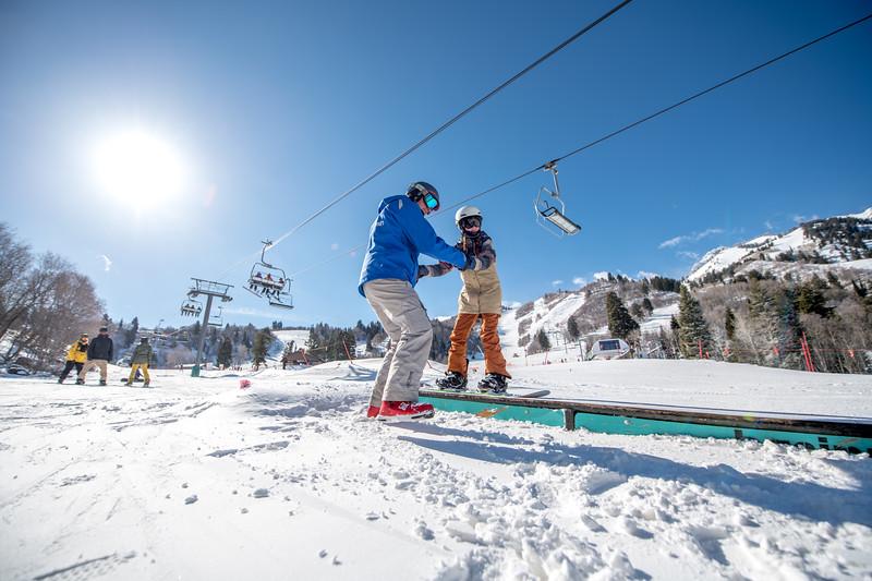 Snowbasin Marketing Shoot Feb 16th Snowboard Family RLT-0505