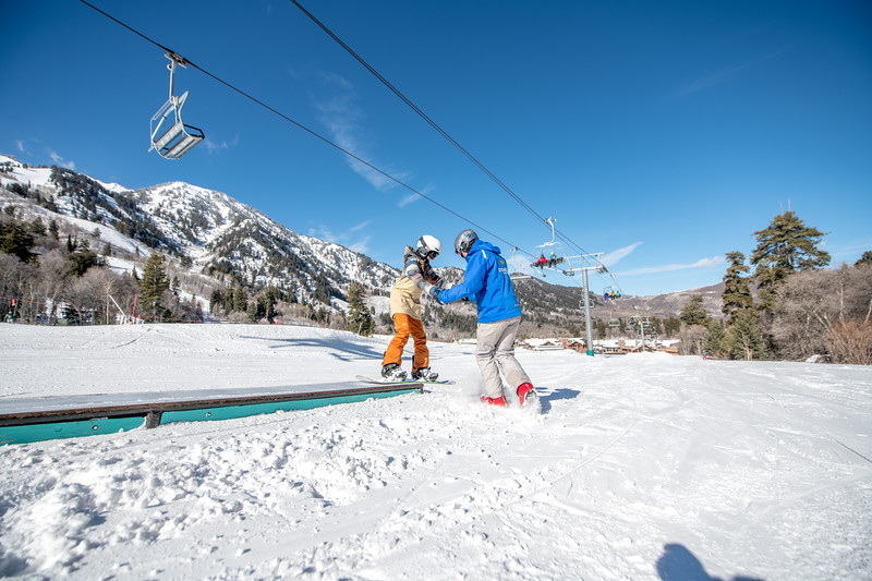 Snowbasin Marketing Shoot Feb 16th Snowboard Family RLT-0518