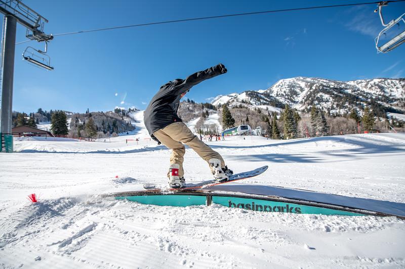 Snowbasin Marketing Shoot Feb 16th Snowboard Family RLT-0500