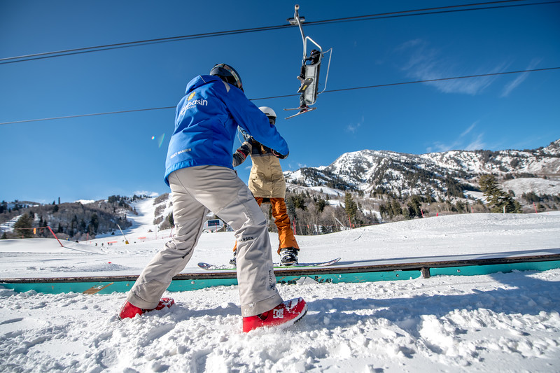 Snowbasin Marketing Shoot Feb 16th Snowboard Family RLT-0509