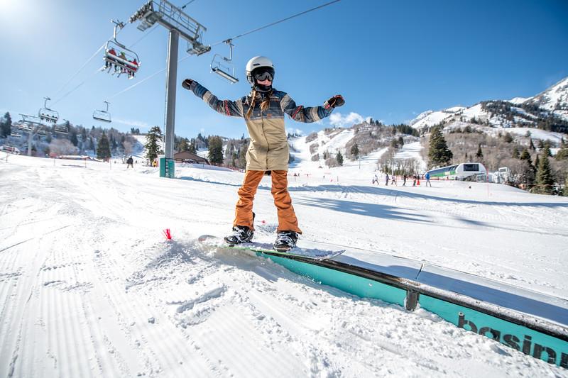 Snowbasin Marketing Shoot Feb 16th Snowboard Family RLT-0492