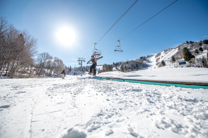 Snowbasin Marketing Shoot Feb 16th Snowboard Family RLT-0542