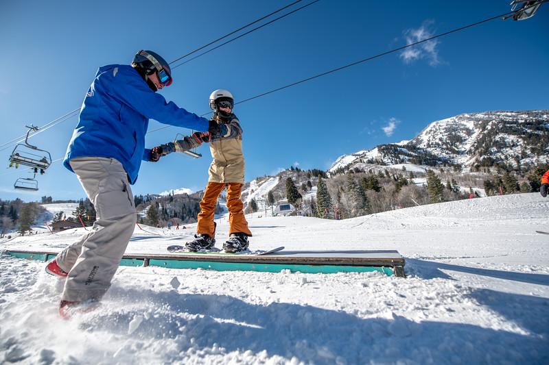 Snowbasin Marketing Shoot Feb 16th Snowboard Family RLT-0532