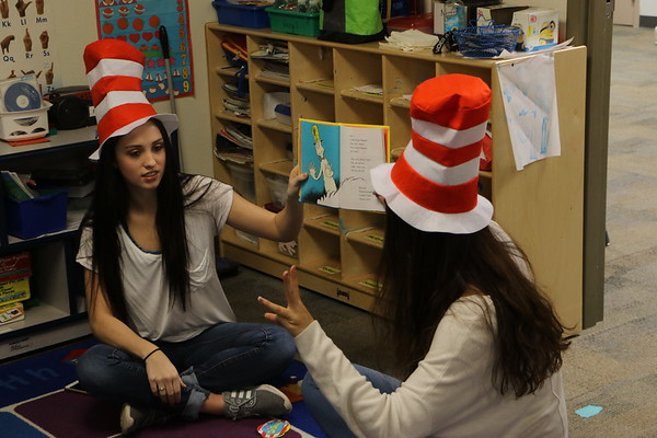 Dr. Seuss Reading (Bear Club Preschool)