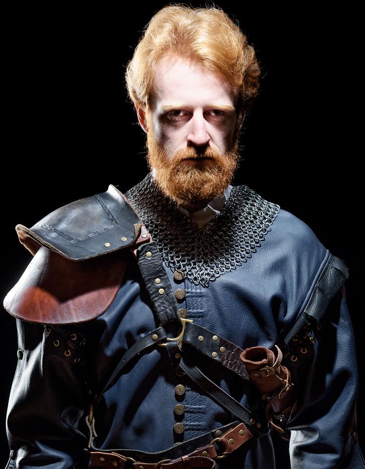 Calder Shilling as Macbeth in MACBETH. Photo by Michael Bailey.