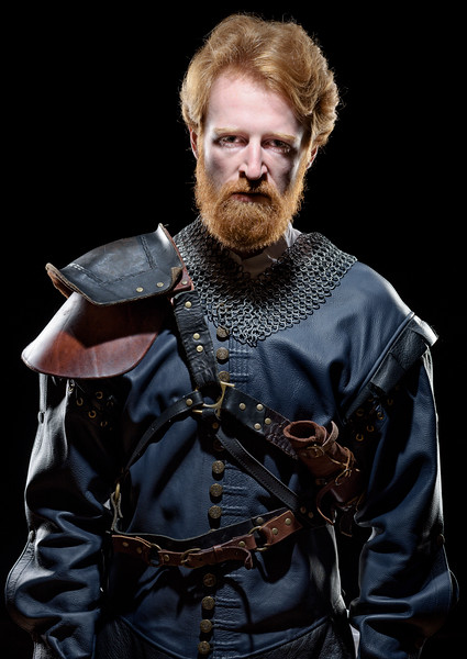 Calder Shilling as Macbeth in MACBETH. Photo by Michael Bailey.