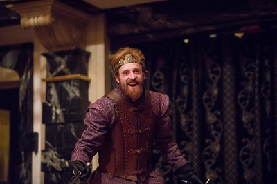 Calder Shilling in MACBETH.  Photo by Tommy Thompson.