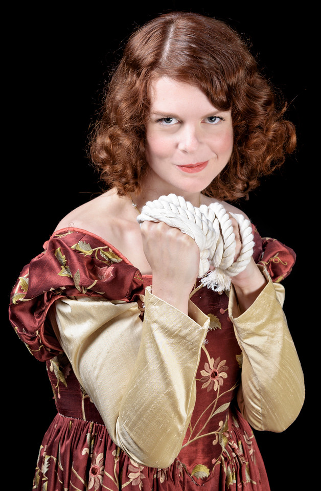 Annabelle Rollison as Kate in THE TAMING OF THE SHREW. Photo by Michael Bailey.