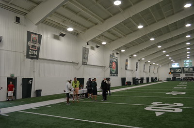 7 on 7 at Michigan State