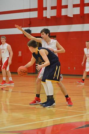 JV Boys' Basketball vs Ovid Elsie