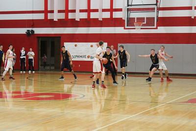 Varsity Boys' Basketball vs Ovid Elsie