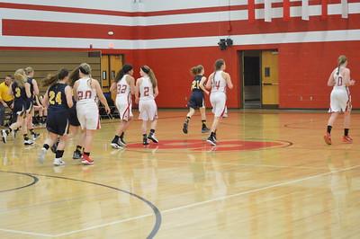 JV Girls' Basketball vs Ovid Elsie