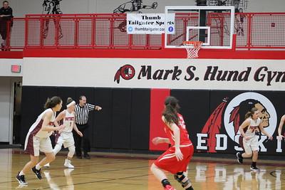 Varsity Girls' Basketball vs USA (Regional)