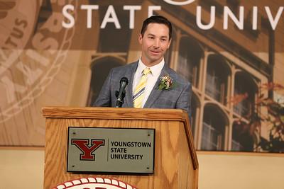 2017 YSU Athletics Hall of Fame Banquet