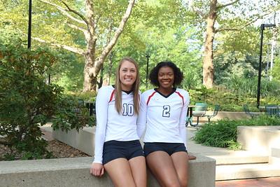 YSU Volleyball Sophomores