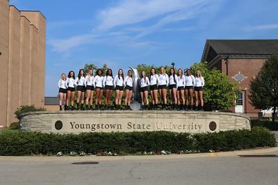 YSU Volleyball Team Photo