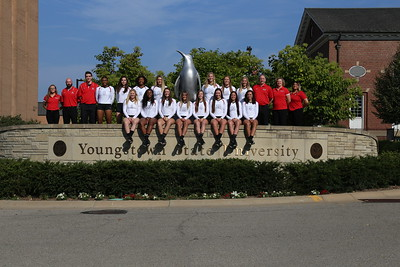YSU Volleyball Team Photo
