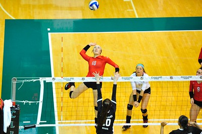 Volleyball at Cleveland State - Nov. 4, 2017 (Thompson)