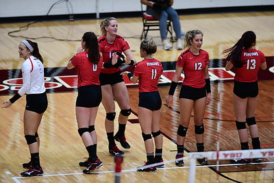 Volleyball vs. Fort Wayne - Sept. 8, 2017 (Dermer)