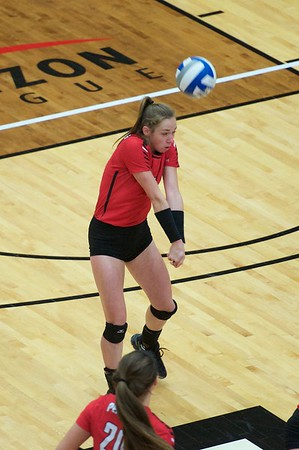 Volleyball vs. IUPUI - Sept. 30, 2017 (Thompson)