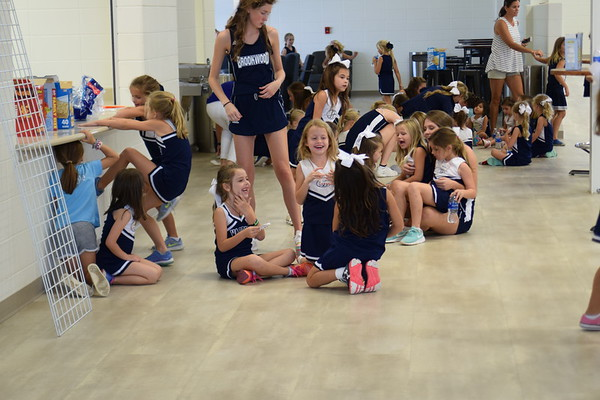 Little Warrior Cheer Clinic