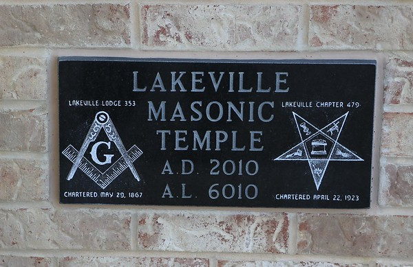 Lakeville Lodge No 353 Rededication 06-03-2017