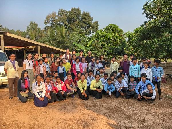 HOPE Cambodia Service Group Trip Feb  2018 - Photos