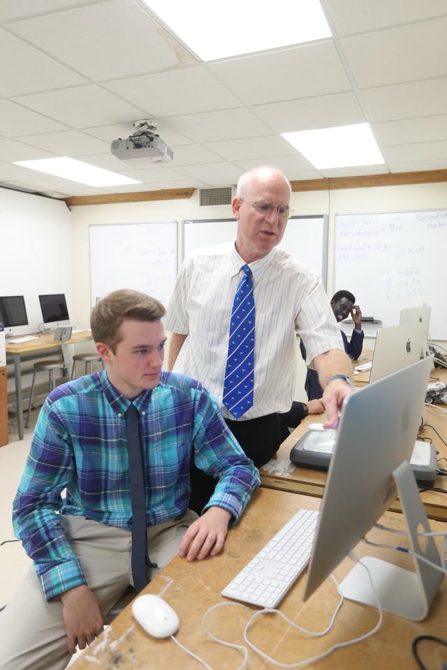 The Blue Ridge School in Greene County, Va.  Photo/Andrew Shurtleff