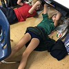 So, just how hard is it to draw while lying on your back, your surface above you. Ask Margaret Washington's GR5 art students, who are trying it out to get a sense of the challenges Michelangelo faced painting the ceilings of the Sistine Chapel.