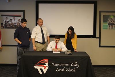 Joe Zagales Signing