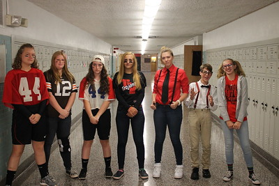 Spirit Week - Jock vs. Nerd