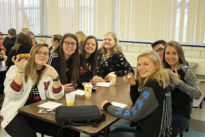 TVHS Honor Roll Breakfast (First Nine Weeks)