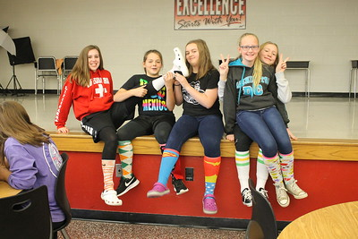 Spirit Week - Crazy Sock Day
