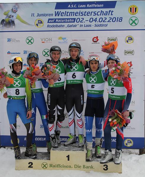 11th FIL Junior World Championships Laas/Lasa (ITA) 17/18